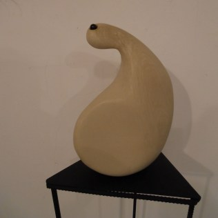 Cast - Limestone - Exhibition Creative young art - Atelier 35 World Trade Center Art Gallery, Iaşi, Romania