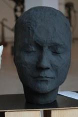 Identity zero - Papier Matche - Sculpture exhibition, Gallery Apart, Iaşi, Romania