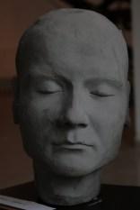 Identity zero - Plaster - Sculpture exhibition, Gallery Apart, Iaşi, Romania