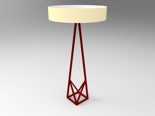Classical floor lamp