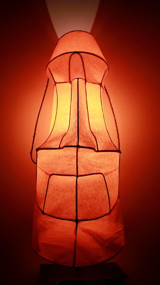 Moai Lamp