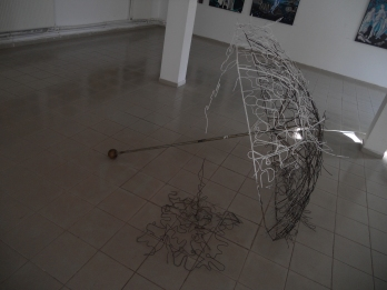 Personal language - Material - Sculpture Exhibition year Master I II, gallery Aparte, Iaşi, Romania
