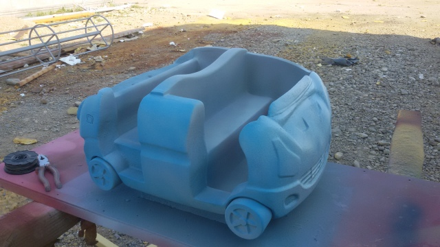 Ride Car model - Concept for ride attractions